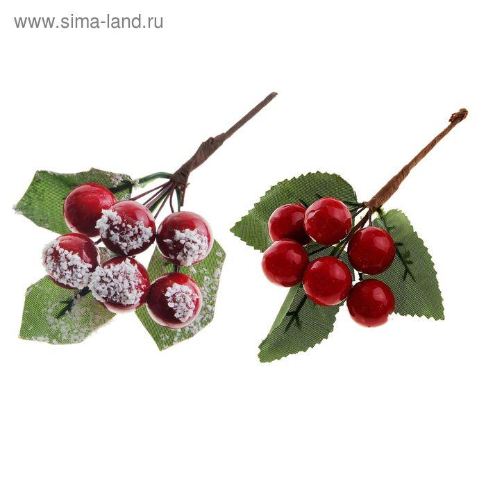 """Украшение новогоднее """"Веточка вишни"""" микс"""