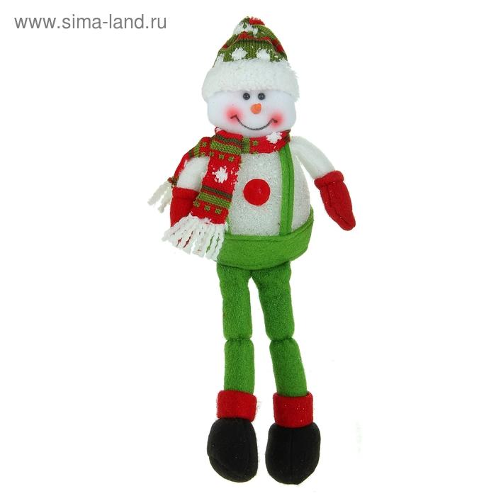 """Световая игрушка """"Снеговик в комбинезоне"""""""