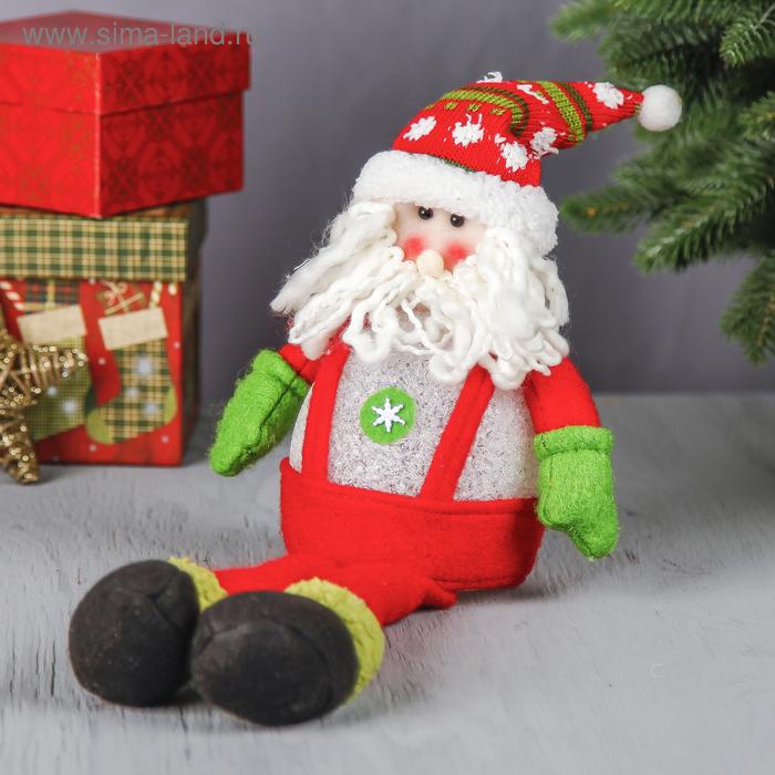 """Световая игрушка """"Дед Мороз в комбинезоне"""""""