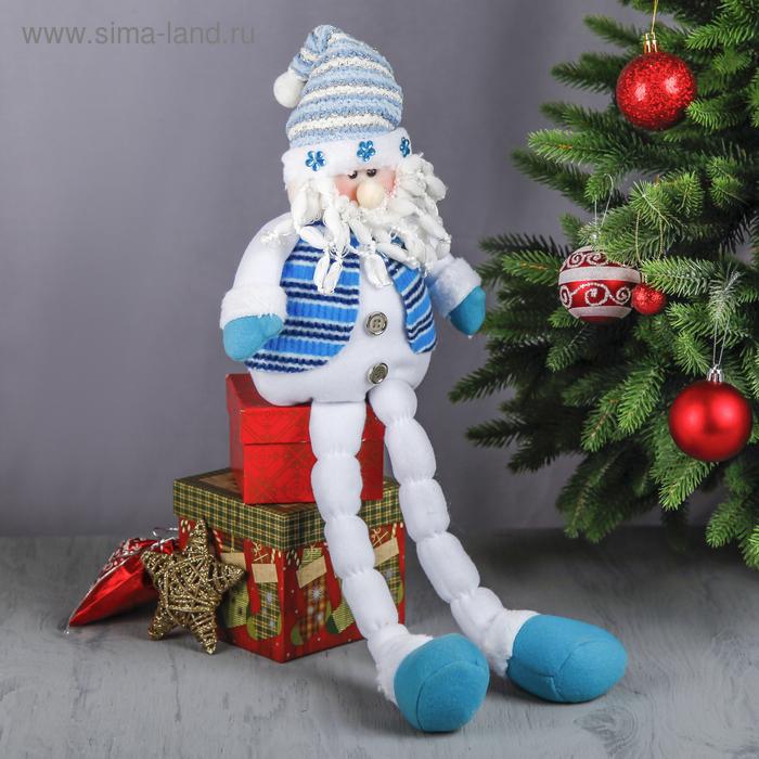"""Мягкая игрушка """"Дед Мороз в жилете"""""""