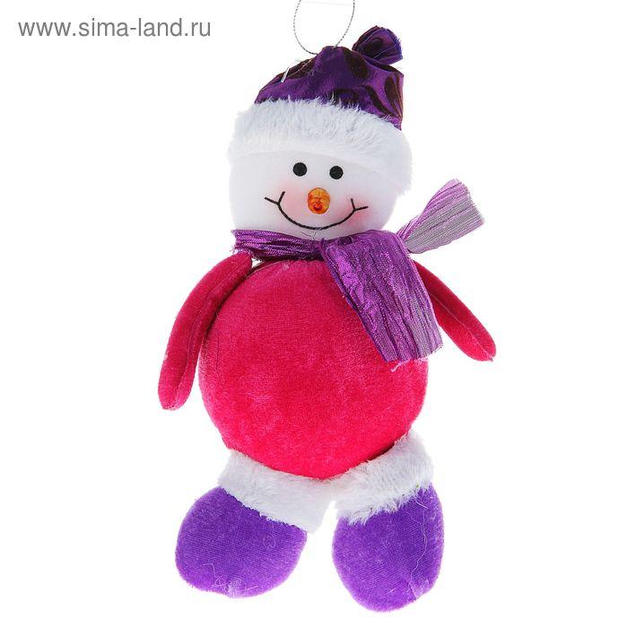 """Мягкая игрушка """"Кругленький снеговик"""""""