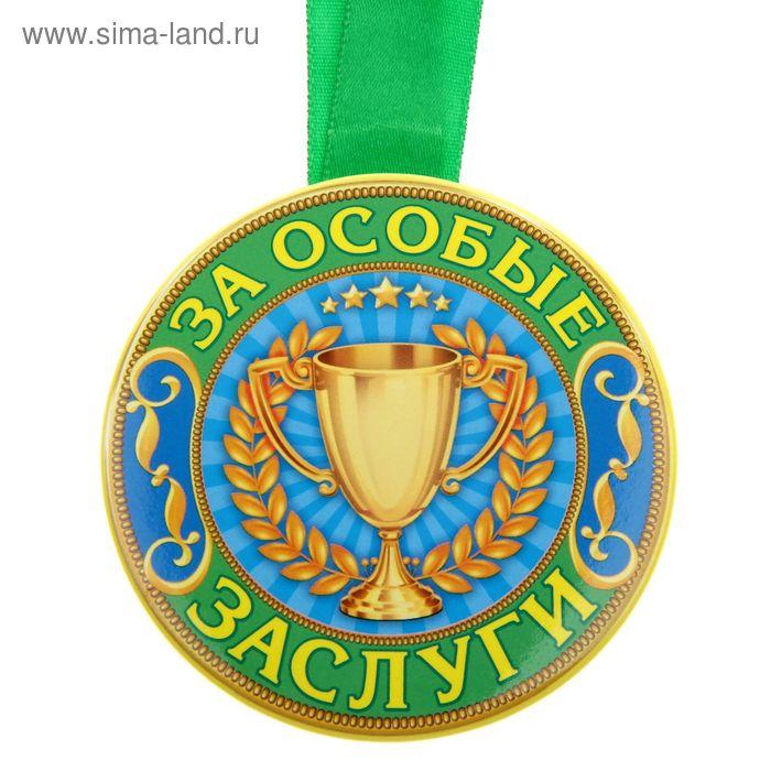 """Медаль """"За особые заслуги"""""""