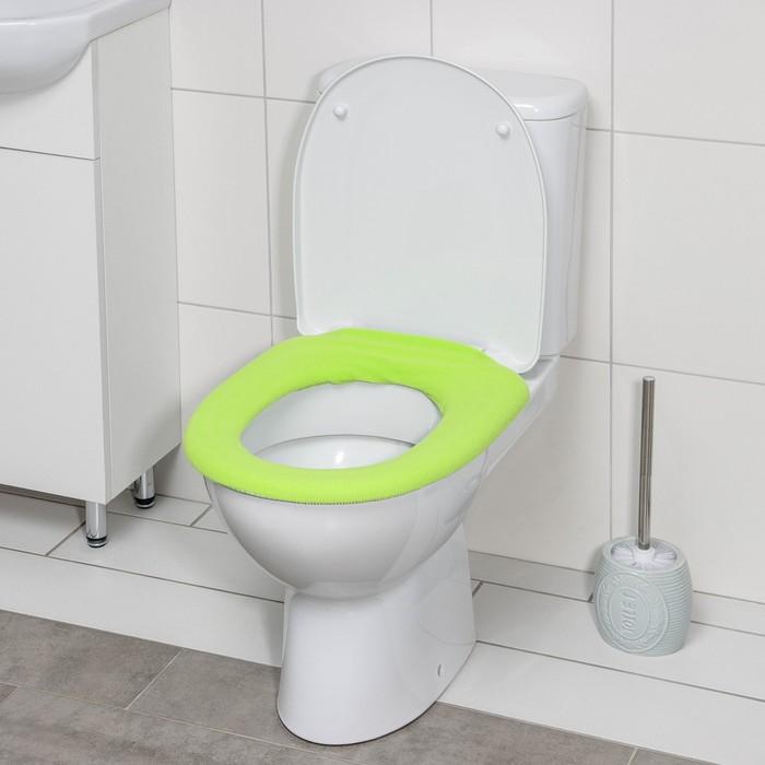 Чехол на сиденье для унитаза, цвета МИКС