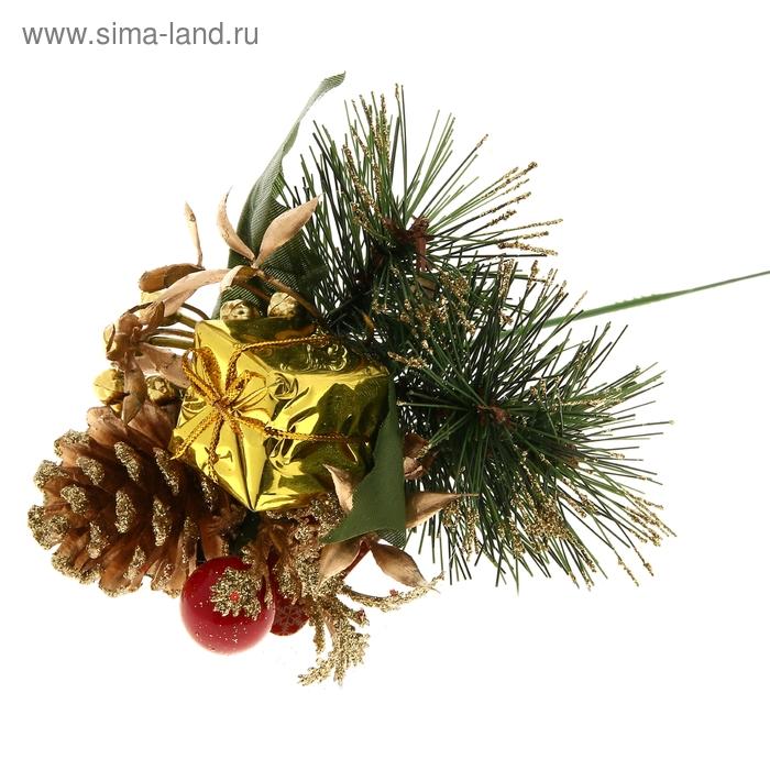 """Декор новогодний """"Красное яблочко"""""""