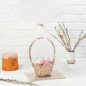 """Пакет """"Подарочный"""", с жестким дном, микс, 22 х 28 х 80 см"""