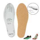 Стельки для обуви универсальные, 28-46р-р, пара, цвет светло-коричневый