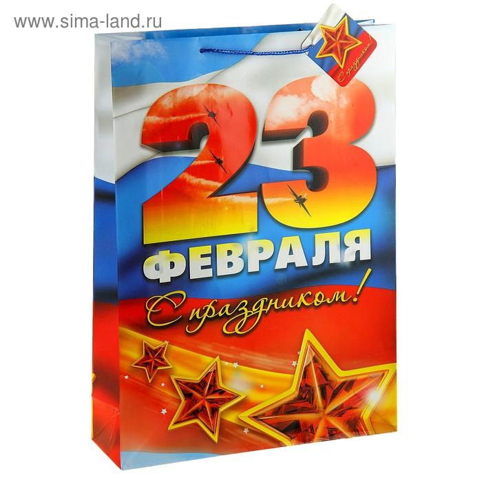 """Пакет подарочный """"23 февраля"""""""