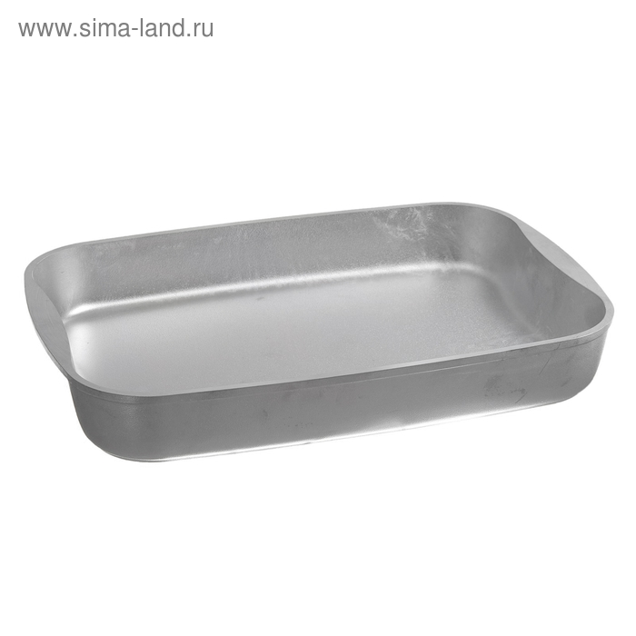 Противень серебристый 26х36,5 см