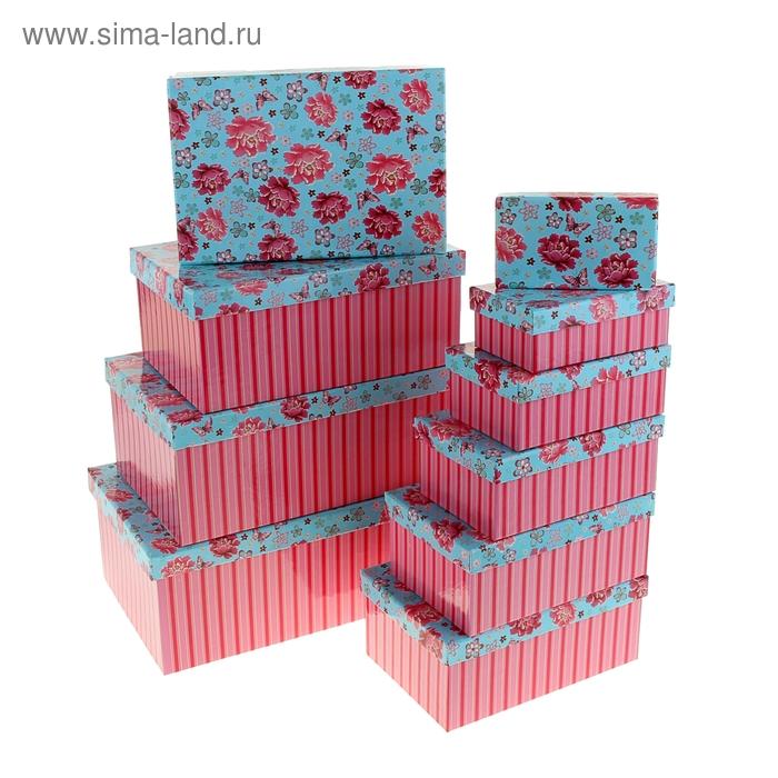 """Набор коробок 10в1 """"Райский уголок"""""""