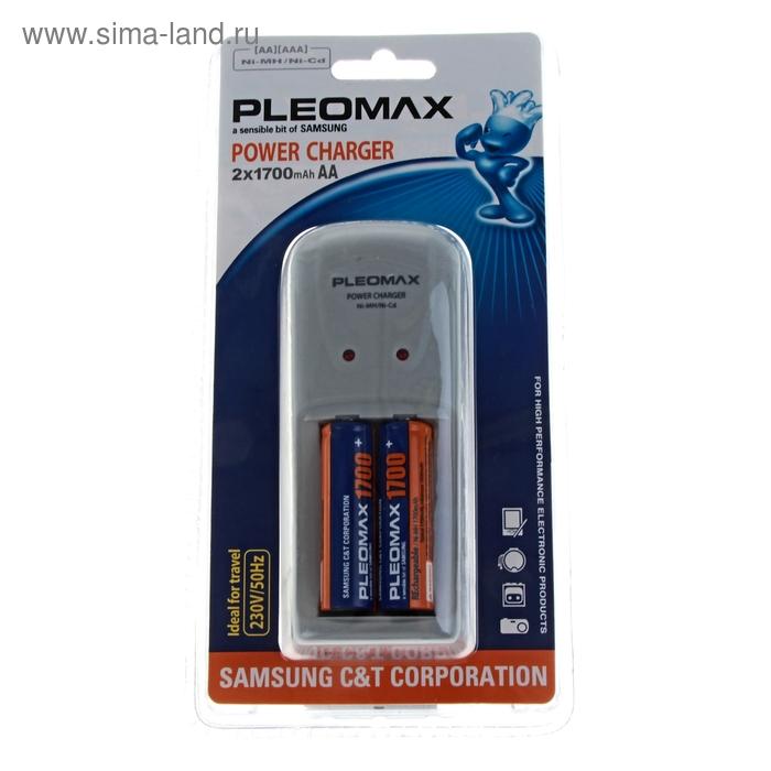 Зарядное устройство универсальное Samsung Pleomax 1018 Power Charger + аккумуляторная батарея Samsung