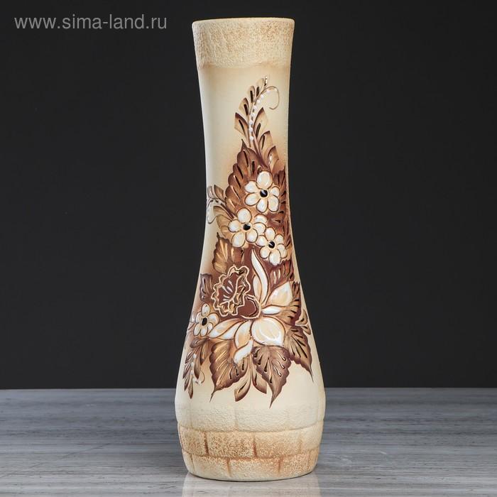 """Ваза """"София"""" шамот, золото"""