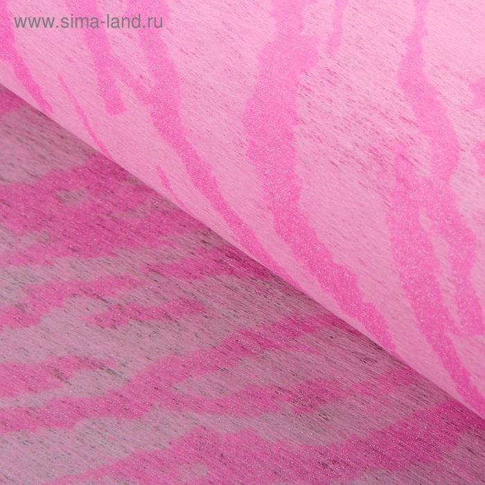 """Флизелин """"Зебра"""", цвет светло-розовый"""