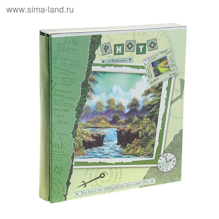 "Фотоальбом ""Времена года"" на 500 фото 10х15 см в коробке, микс"