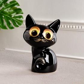 Копилка 'Котёнок' зелёные глаза Ош