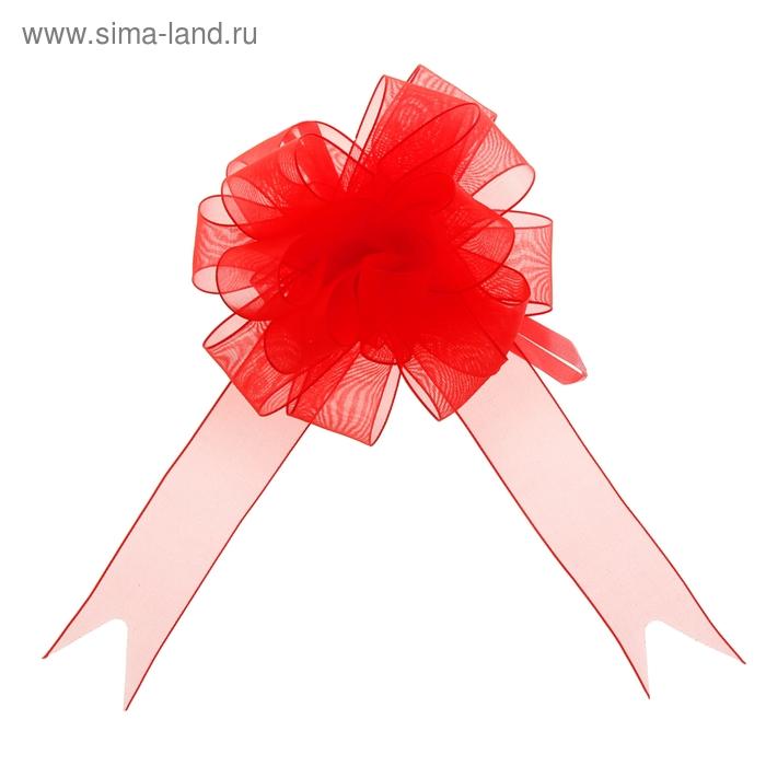 """Бант-шар №2,7 """"Лёгкость"""", цвет красный"""