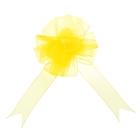 """Бант-шар №2,7 """"Лёгкость"""", цвет жёлтый"""