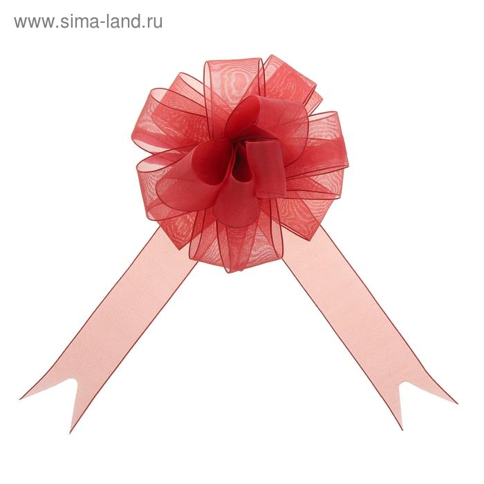 """Бант-шар №2,7 """"Лёгкость"""", цвет бордовый"""