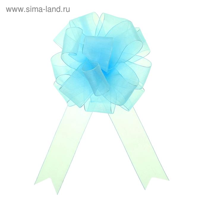 """Бант-шар №5 """"Лёгкость"""", цвет голубой"""