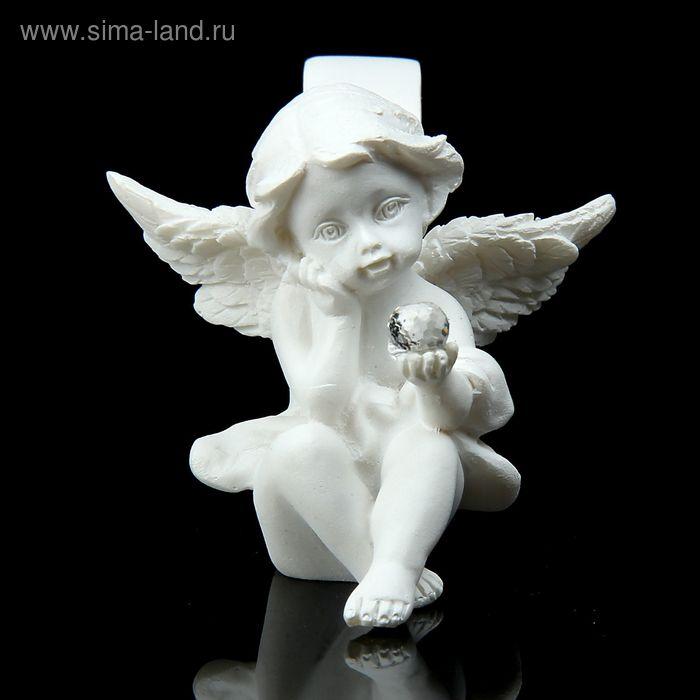 """Сувенир """"Ангел с волшебным шариком"""" с подставкой для салфеток"""
