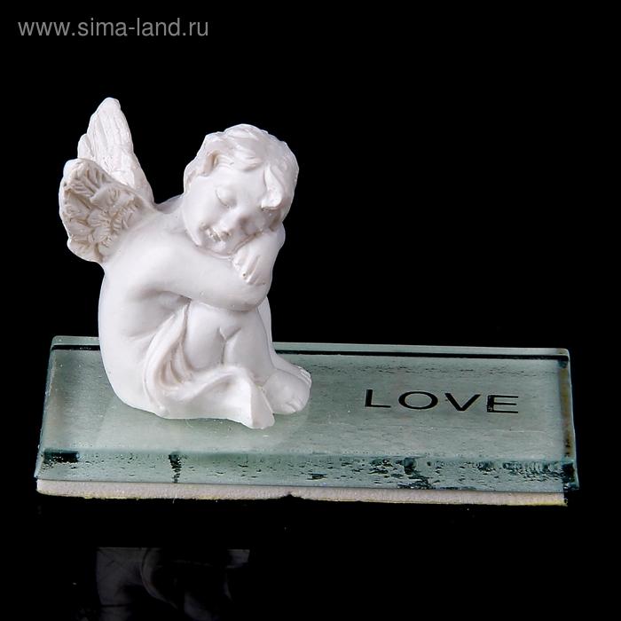 """Сувенир """"Ангел на стекле. Любовь"""""""