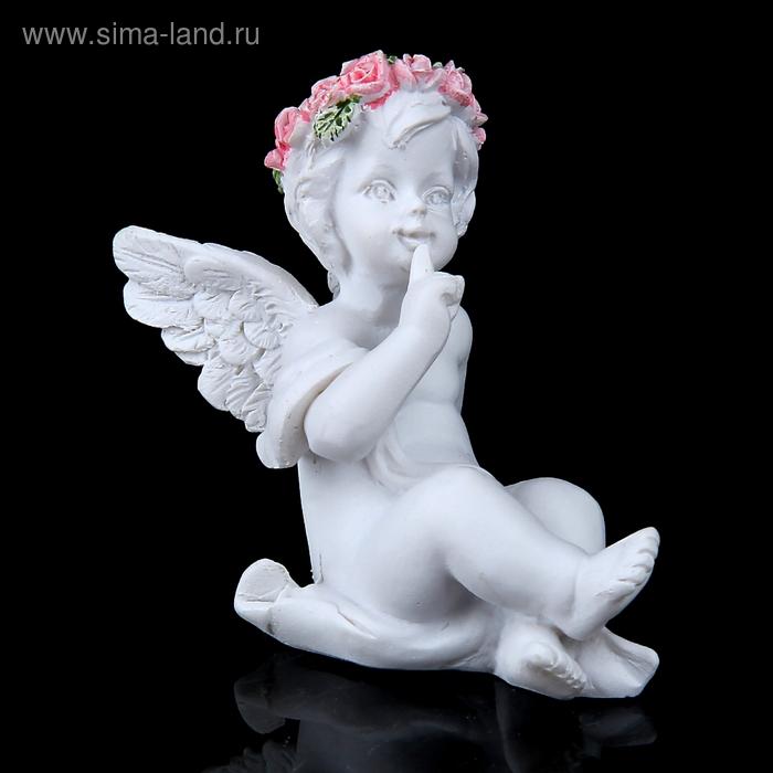 """Сувенир """"Ангел в венке из роз на отдыхе"""", МИКС"""