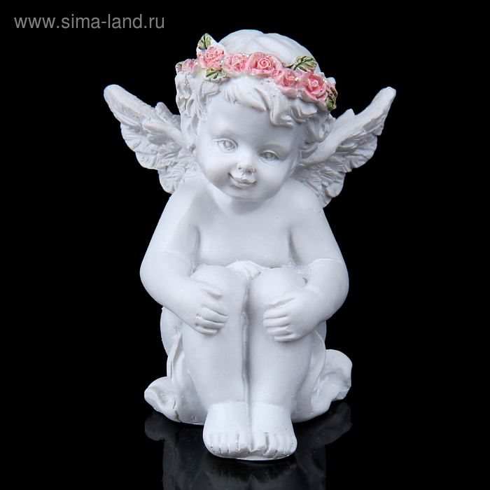 "Сувенир ""Ангел в венке из роз"", МИКС"