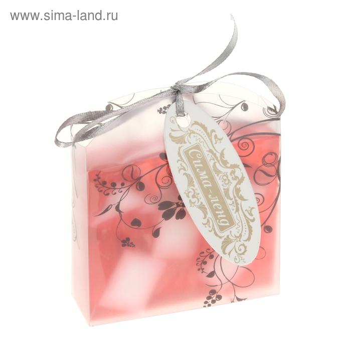"""Мыло сувенирное """"Элеганс"""", цвет нежно-розовый"""