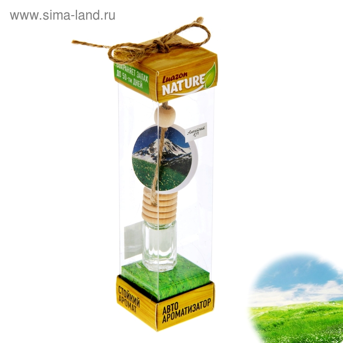"Ароматизатор для авто ""Luazon Nature"", альпийский луг"