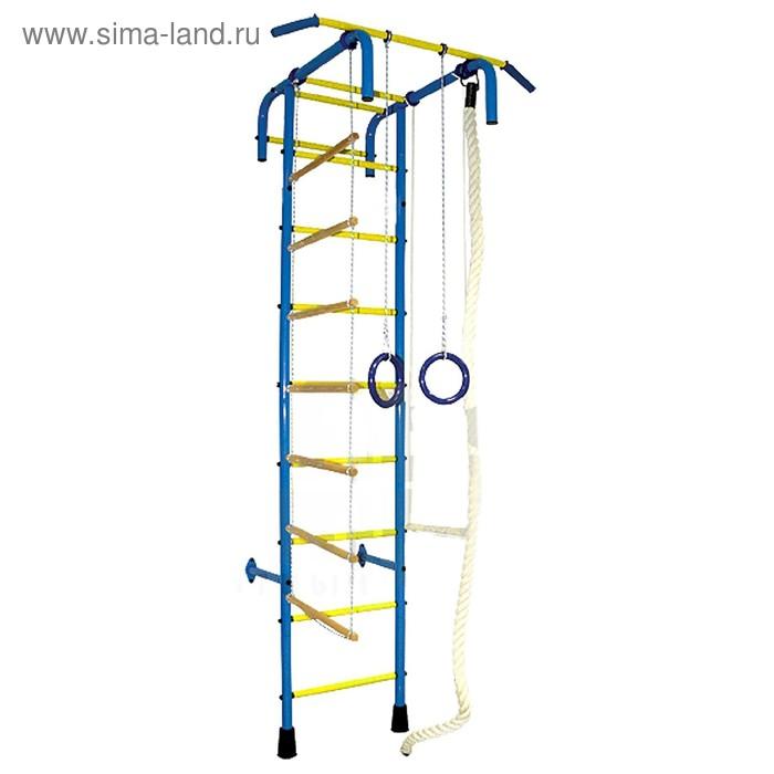 Детский спортивный комплекс 4, широкий хват, пвх покрытие, цвет МИКС