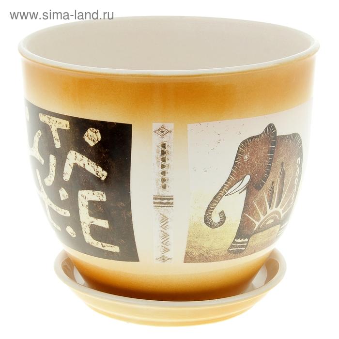 "Кашпо ""Виктор"" слон, 4 л"
