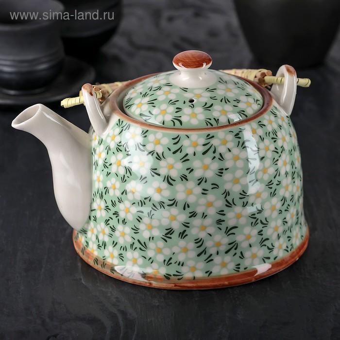 """Чайник заварочный 900 мл """"Весеннее цветение"""""""