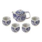 """Набор для чайной церемонии 5 предметов """"Традиция"""" (чайник 400 мл, чашка 50 мл)"""