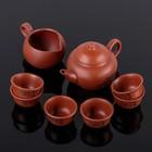 "Набор для чайной церемонии 8 предметов ""Иероглиф"" (чайник 150 мл, чахай 100 мл, чашка 30 мл)"