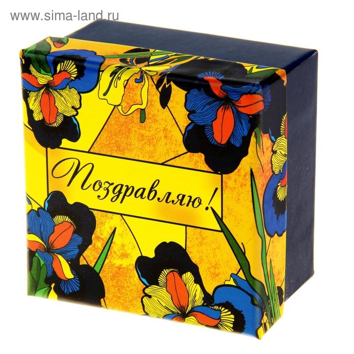 "Коробка подарочная ""Ирисы"""