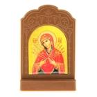 """Икона на подставке """"Икона Божией Матери Умягчение злых сердец"""""""