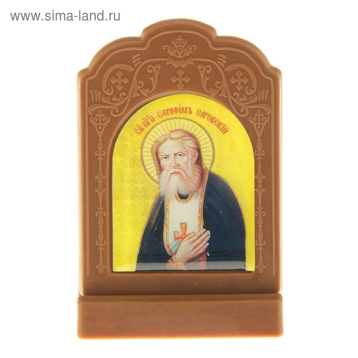 """Икона на подставке """"Преподобный Серафим Саровский"""""""