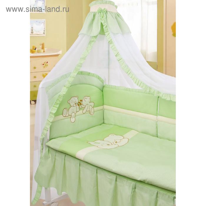 """Комплект """"Лапушки"""", 8 предметов, цвет зеленый"""