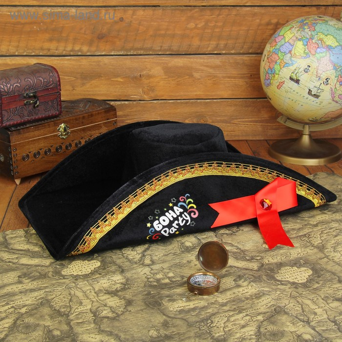 "Шляпа наполеона ""Бона Party"", р-р. 58"