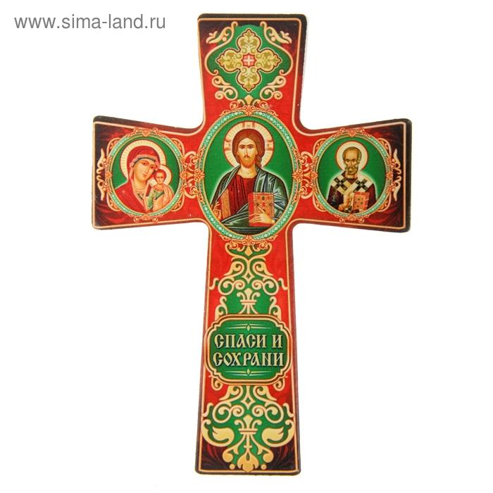 """Крест с подвесом """"Триптих"""""""