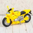 "Светильник детский ""Мотоцикл"", жёлтый"