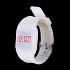 Часы наручные женские электронные, невидимый циферблат, цвет белый
