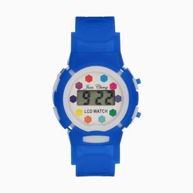 Часы наручные электронные «Активити», детские, с силиконовым ремешком, микс Ош