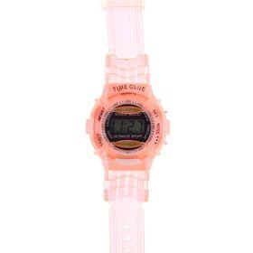 Часы наручные мужские электронные на силиконовом ремешке, цвета МИКС Ош