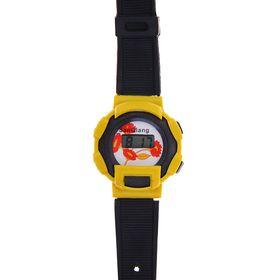 Часы наручные мужские электронные на силиконовом ремешке, МИКС