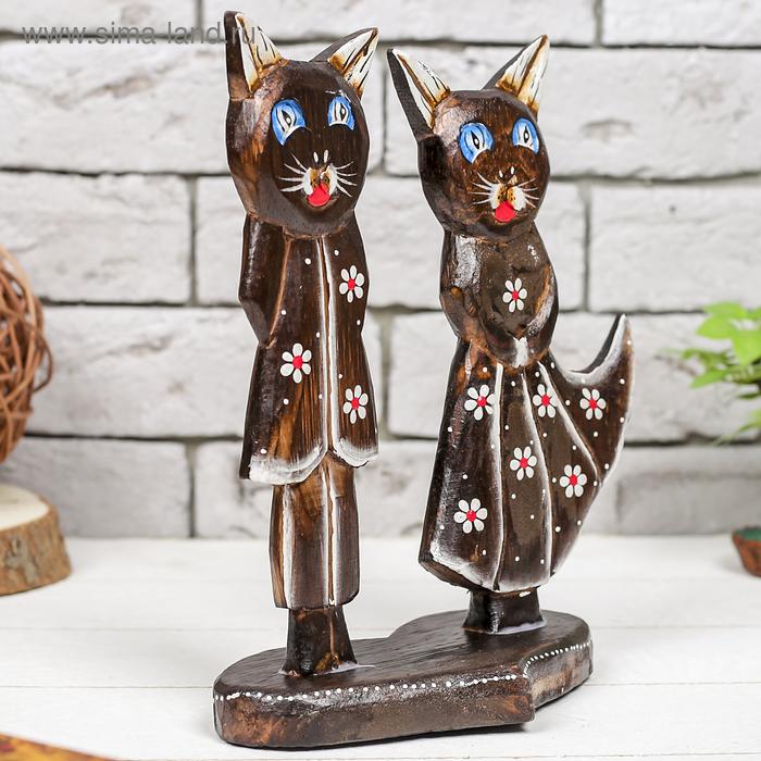 """Сувенир """"Кошки на подставке"""""""