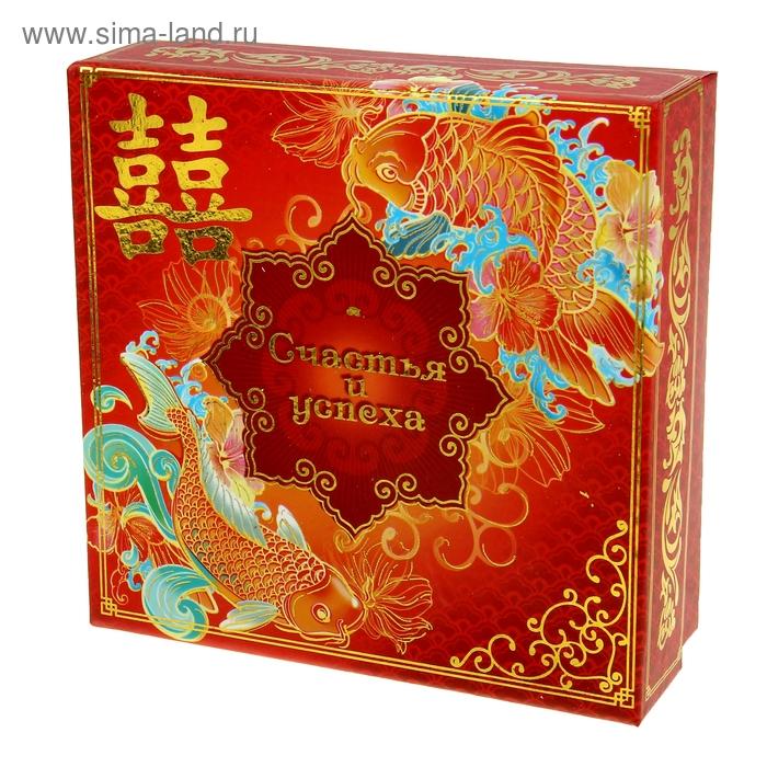 """Коробка подарочная """"Счастья и успеха"""""""
