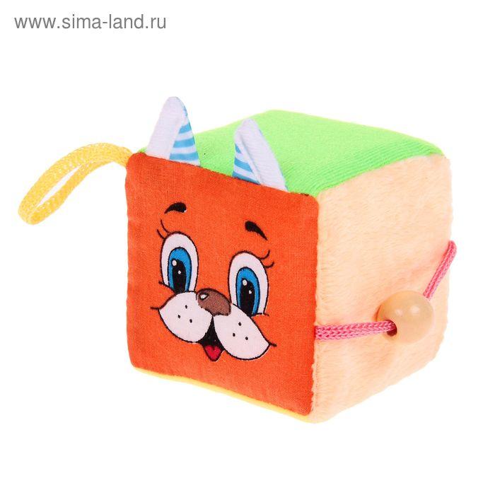Развивающий тактильный куб