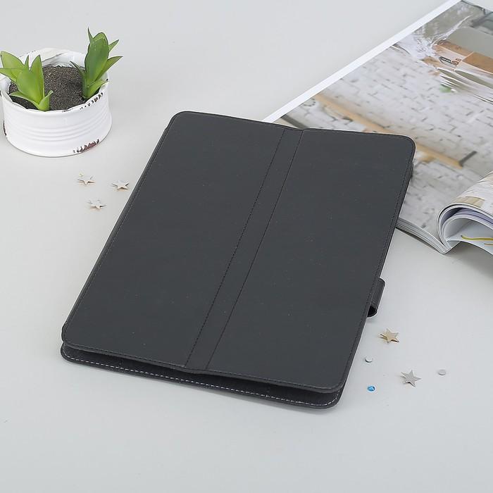 """Чехол-книжка для планшета, универсальный, 10.1"""", с уголками, цвет чёрный"""