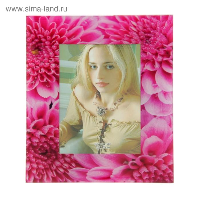 """Фоторамка """"Розовые пионы"""" 10х15 см"""