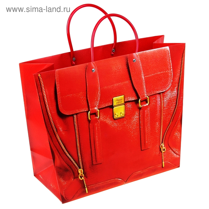 """Пакет-сумка (тиснение) """"Молния"""", 39 х30 см"""
